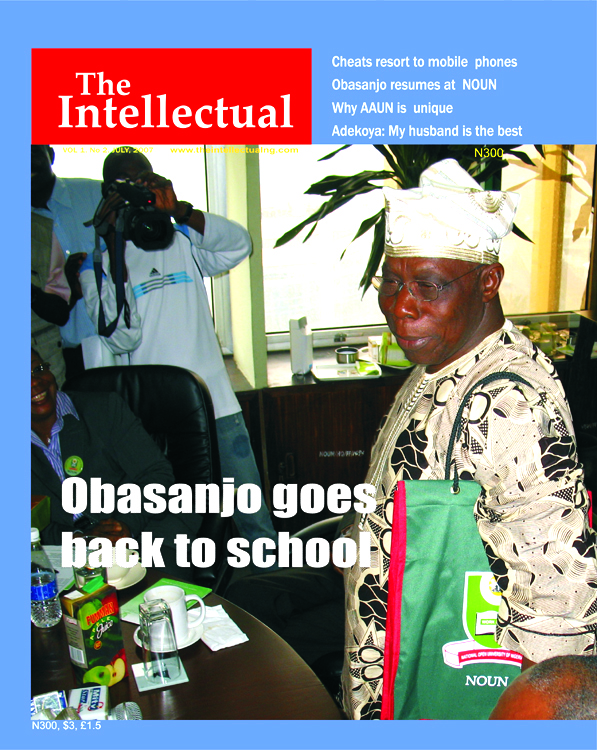Obasanjo goes back to school