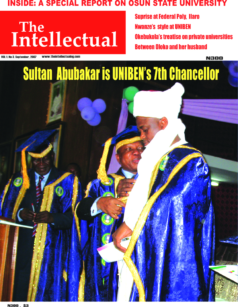 Sultan Abubakar is Uniben's 7th Chancellor
