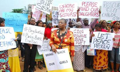 Chibok-protest