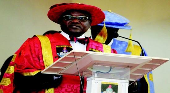 Prof John Oladapo Obafunwa, Vice Chancellor, Lagos State University,