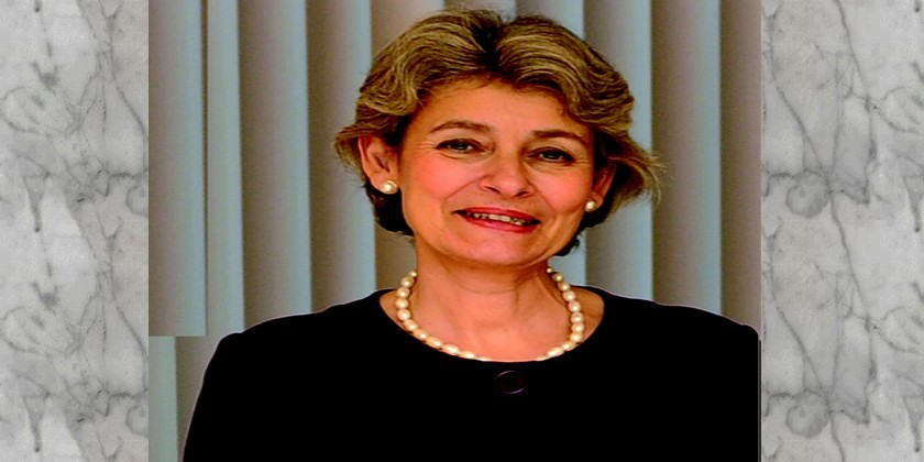 UNESCO's Director General, Irina Bokova