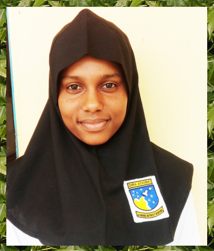 Head Girl- Khadijah Tukur
