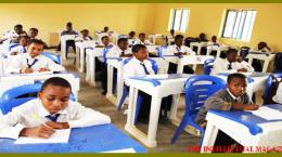 Zaria Academy students in Class